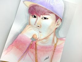 Tablo -- Epik High fan art painting by antuyetlai