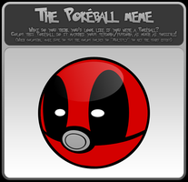 The Pokeball Meme - Deadpool by DTJames