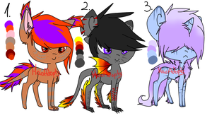 Adoption on offer Pony OPEN [2/3] by HaoAdopts