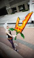 Riven-LoL by Toniji-Arts