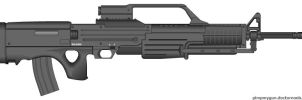 Walther WA2000 by GeneralTate