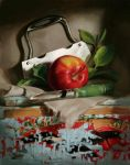 still life of apple by Mike-Sass
