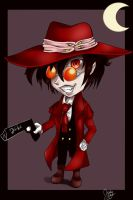 Chibi Alucard by IcaZell
