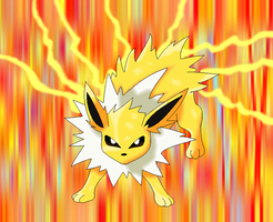 135.Jolteon by pokemonlover5673