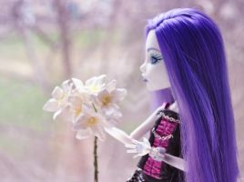 Flowers for monsters: Spectra and sad lilac by ItSurroundsMe