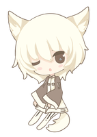 chibi Tomo by DeathHime