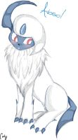 Request, Absol sketch. by A-Psycho-Banana