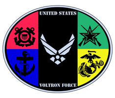 Voltron US Forces by Samoht-Lion