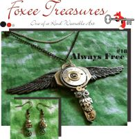 Always Free (Sold) by FoxeeTreasures