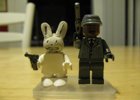Lego Sam and Max by StrongBrush1