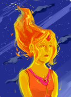 Flame Princess by Leon9606