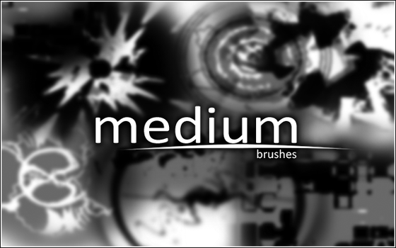 Medium Brushes by starrily