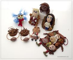 Fantasy - Labyrinth clay collection by buzhandmade