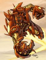 IronMaN tRANSFORMER sTYLE by johjames