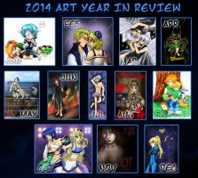 2014 Art Year in Review by kojika