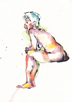 Watercolor #4, 9/6 by JoeWierenga