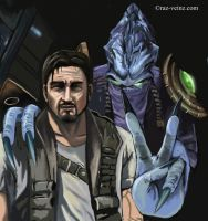My friend Jim Raynor by Raz-Veinz