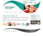 Dental Care website Design by artistsanju