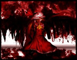 The Crimson Devil Flandre by Tearelle