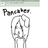 Q: Pancakes. by Ask-FemChair