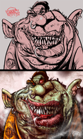 Gruesome Non Toothsome by RussCook