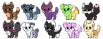 Mystery Pup Adoptable #3 [Closed] by DamiZeriAdopts
