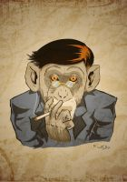 Monkey Business by frixinthepixel