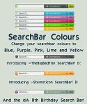 Search Bar Colours by Freaksville