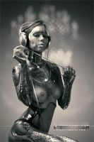 CYBERATONICA. CHROME. by Vitaly-Sokol