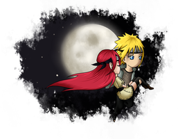 MinaKushi: Flying away from the moon by DogloverXD