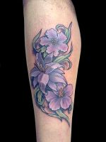 Flores P by maximolutztattoo