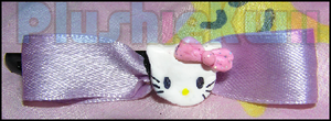 Hello Kitty bowclip by MomoKiko