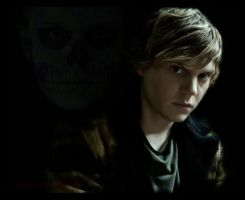 Evan Peters _ Tate Langdone by Atticafinch