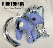 Nightshade custom MLP by BlooPoet
