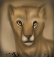 Nala Lil Lion cub by NeonDefined