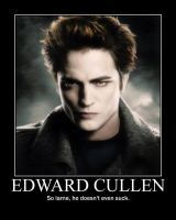 Edward Cullen by ZombiexFood