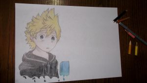 Roxas (it's not finished) by Chuls97