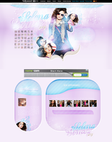 Selena Gomez WP Theme by littlebutterflyxxx