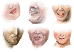 Mouth study by Gorgonzzola