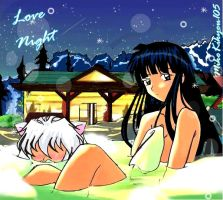 Love InuKyo Night+colors by MikoKikyou105