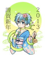 Happy New Year 2013 by MONO-Land