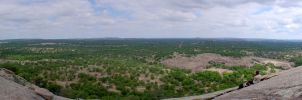 Enchanted Rock Panorama 1 by marioncobretti
