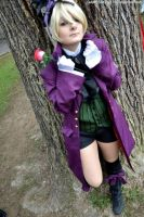 Alois Trancy - rose and blood. by mory-chan