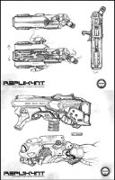 R3PL1K4NT_ Weapon study by AGA-99