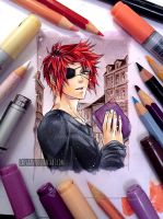 Lavi - D.Gray-man by Laovaan