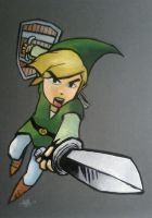 THE LEGEND OF ZELDA by BUMCHEEKS2