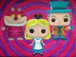 Alice in Wonderland Pop!s by billywallwork525