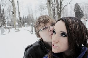 Just Two Kids in the Snow by Himmelmeere