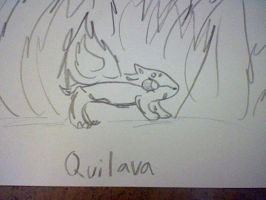 Quilava by Hearts-The-Eevee