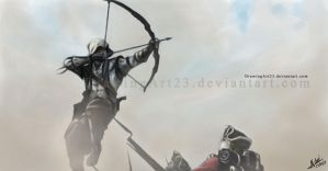 Assassin's Creed 3 by DrawingArt23